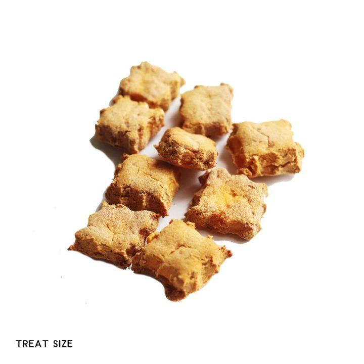 sweet potato dog biscuit treat size
