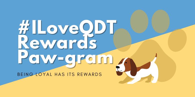 #Iloveqdt rewards programme