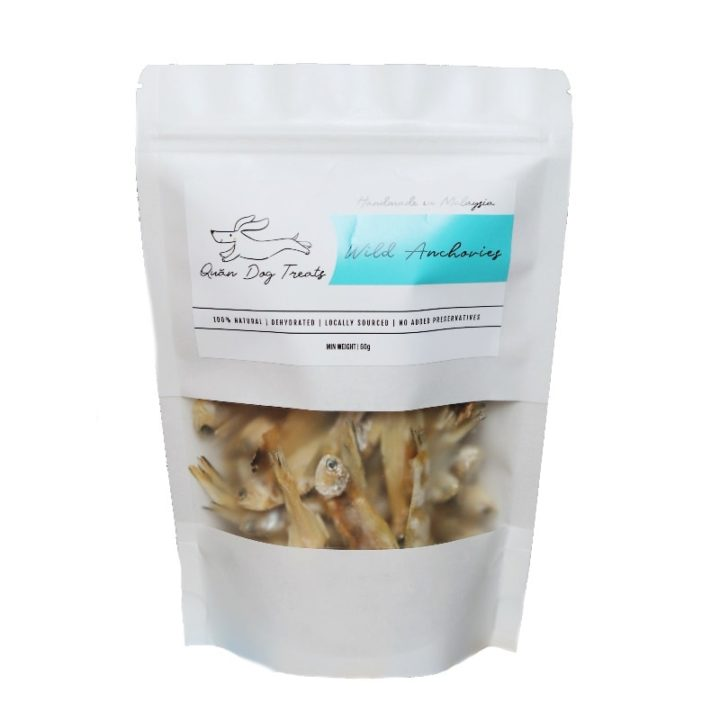 wild anchovies for dogs
